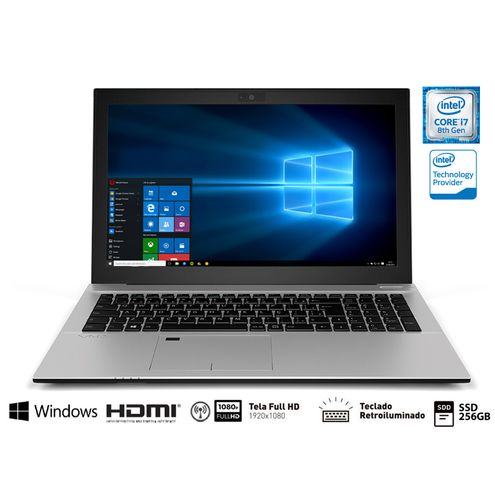 Notebook Vaio Vjf157F11X-B0611S Fit 15S I7-8550U 8Gb 256Gb Ssd 15.6 Fullhd Tecl Retroilum Win10 Home