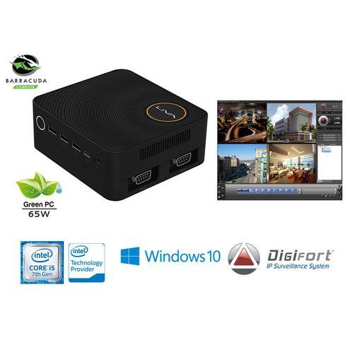 Nvr Camera com Windows Digifort Ultratop Liva Ze Plus Core I5-7200U 4Gb 1Tera 16Cam 4K Wifi Win 10
