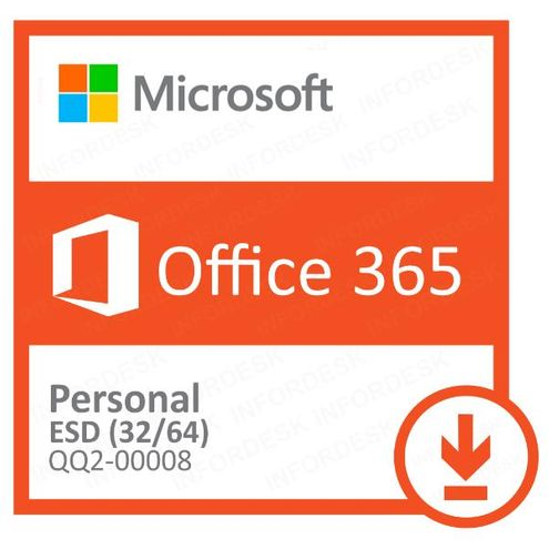 Office 365 Personal 32/64 Assinatura 1 Ano Download Qq2-00008