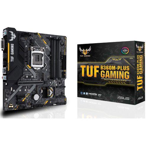 Placa-Mãe Asus Gaming (Tuf B360M-Plus~90Mb0Y40-C1Bay0) Intel 1151 Ddr4 Matx