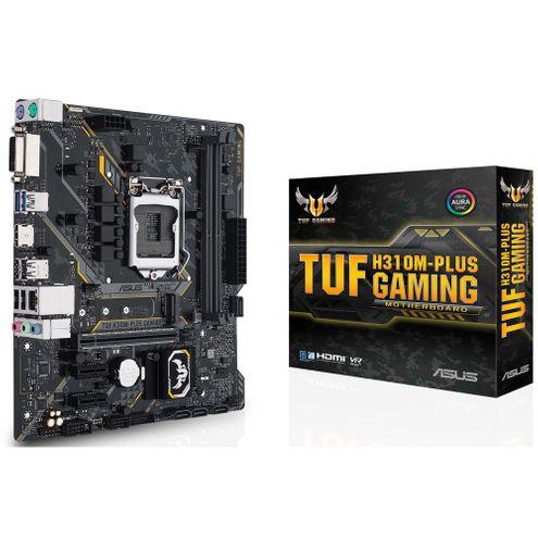 Placa-Mãe Asus Gaming (Tuf H310M-Plus~90Mb0Y50-C1Bay0) Intel 1151 Ddr4 Matx
