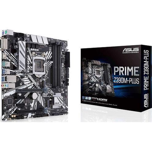 Placa-Mãe Asus Prime (Prime Z390M-Plus~90Mb0Z60-M0Eay0) Intel 1151 Ddr4 Matx