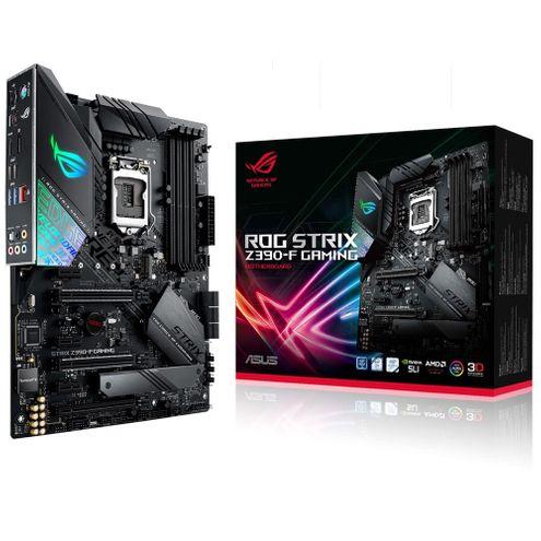 Placa-Mãe Asus Rog (Rog Strix Z390-F~90Mb0Yg0-M0Eay0) Intel 1151 Ddr4 Atx