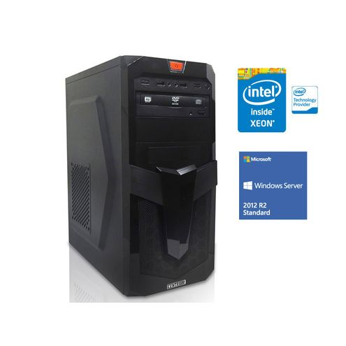Servidor Torre Intel Win Server Centrium Sc-T1200 Quad Core Xeon 1220V3 3.1Ghz 8Gb Udimm 1Tb 2012 St