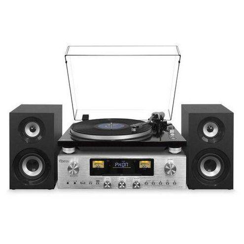 Sistema de Som Raveo Concert One Rr1000 Toca-Disco Usb Cd Play Bluetooth Fm (Reproduz/grava)