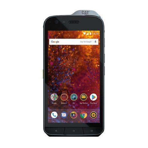 """Smartphone Caterpillar Cat S61 4Gb/64Gb Lte Dual Sim Tela 5.2"""" Câm.16Mp + 8Mp-Preto"""