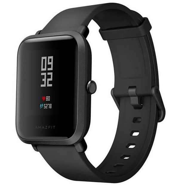 Smartwatch Amazfit Bip Lite A1915 com Bluetooth 20Mm - Preto