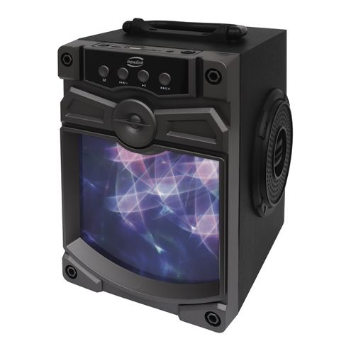 Speaker Atomic Bluetooth Radio Fm Sp 111 - Newlink