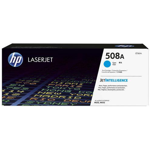 Toner Laserjet Color Hp Suprimentos Cf361A Hp 508A Ciano M553Dn