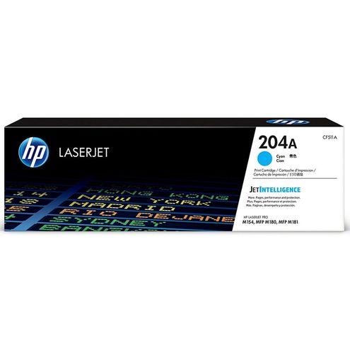 Toner Laserjet Color Hp Suprimentos Cf511A Hp 204A Ciano M180Nw