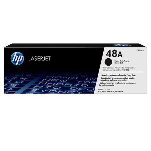 Toner Laserjet Mono Hp Suprimentos Cf248A Hp 48A Preto M15W / M28W